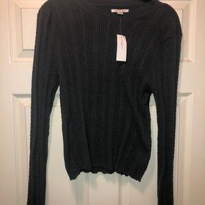 Super Soft Knit Gray American Eagle Sweater